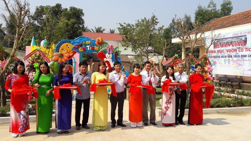 Trường mầm non Trần Đình Châu
